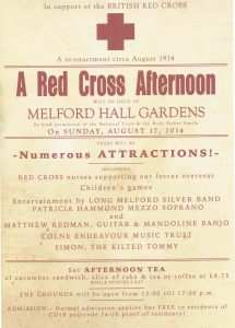 Melford Hall poster