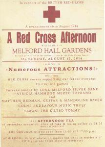 Melford Hall poster