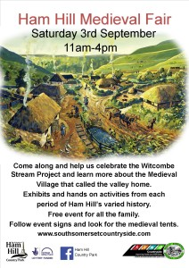 event poster medieval fair