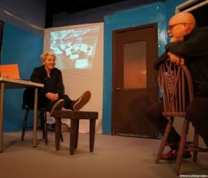 Transgendered Shakespeare, actors, Beckenham Theatre Centre rehearsal